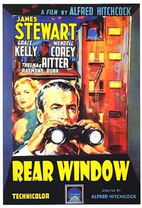 Rear Window / The Man Who Knew Too Much Movie Poster