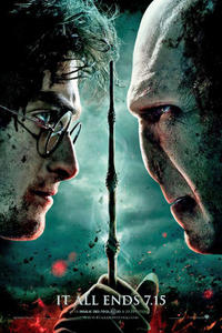 Harry Potter and the Deathly Hallows: Part 2: 3D Movie Poster