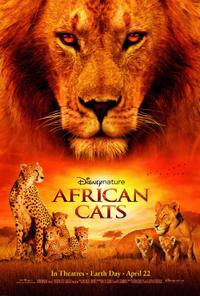 African Cats Movie Poster