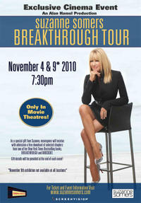 Suzanne Somers Breakthrough Tour Movie Poster