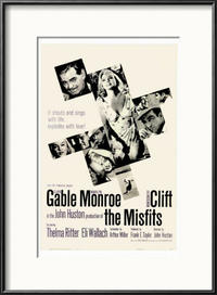 The Misfits/San Francisco Movie Poster