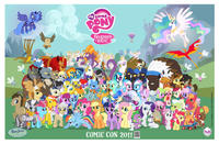 My Little Pony: Friendship Is Magic Movie Poster