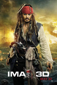 Pirates of the Caribbean: On Stranger Tides An IMAX 3D Experience Movie Poster
