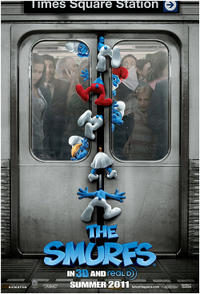 The Smurfs 3D Movie Poster