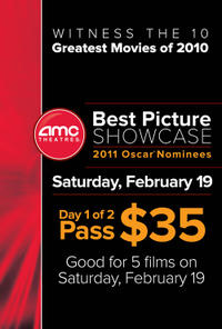 AMC 2011 Best Picture Showcase 1 Movie Poster