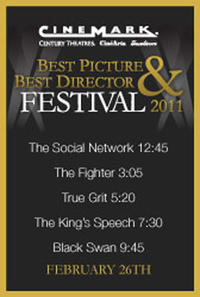 Cinemark's 2011 Best Picture & Best Director Festival Movie Poster