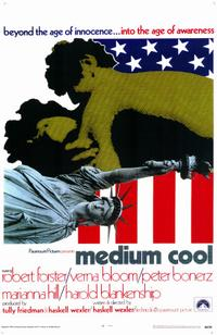 Medium Cool / Reflections in a Golden Eye Movie Poster