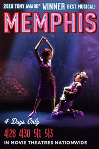 Memphis Broadway Musical Movie Poster