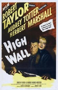 High Wall/Strangers in the Night Movie Poster