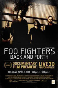 Foo Fighters Back and Forth Movie Poster