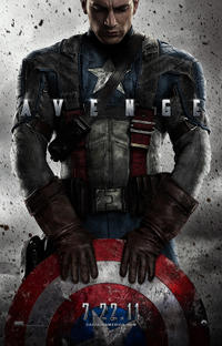 Captain America: The First Avenger 3D Movie Poster