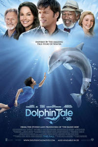 Dolphin Tale 3D Movie Poster