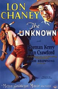 The Unknown / The Unholy Three Movie Poster