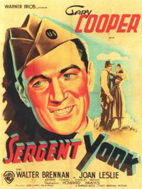 Sergeant York / The Red Badge of Courage Movie Poster