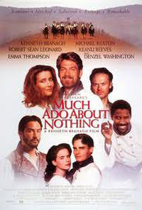 Much Ado About Nothing / A Midwinter's Tale Movie Poster