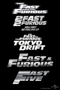 Fast & Furious Marathon (2011) Movie Poster