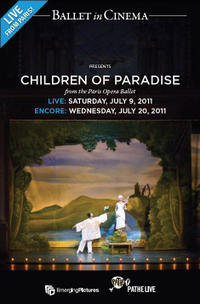 The Children of Paradise Encore Movie Poster