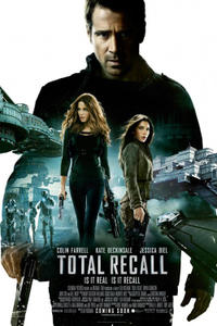 Total Recall (2012) Movie Poster