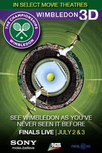 Wimbledon Live in 3D: Women's Finals Movie Poster