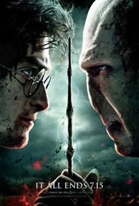 Harry Potter and the Deathly Hallows Part 2: The IMAX Experience Movie Poster