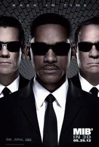 Men in Black III 3D Movie Poster