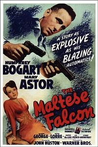 Maltese Falcon/The Big Sleep Movie Poster
