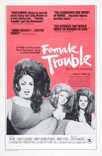 Female Trouble/Serial Mom Movie Poster