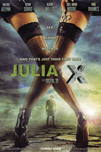 Julia X 3D Movie Poster
