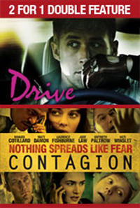 2 For 1 - Drive / Contagion Movie Poster