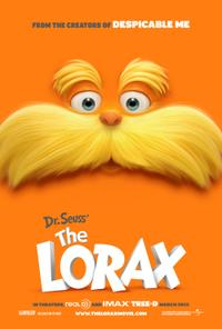Dr. Seuss' the Lorax: An IMAX 3D Experience Movie Poster