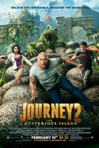 Journey 2: The Mysterious Island An IMAX 3D Experience Movie Poster