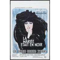 The Bride Who Wore Black / Jules and Jim Movie Poster