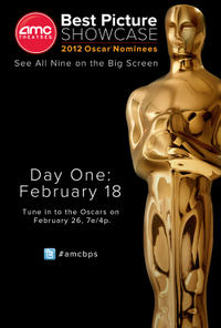 AMC Best Picture Showcase: 2012 Oscar® Nominees – Day 1 Movie Poster