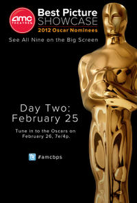 AMC Best Picture Showcase: 2012 Oscar® Nominees – Day 2 Movie Poster