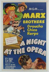 A Night At The Opera/Room Service Movie Poster