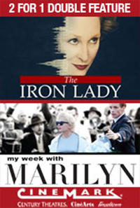 2 for 1 - Iron Lady / My Week with Marilyn Movie Poster