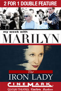 2 for 1 - My Week with Marilyn / Iron Lady Movie Poster