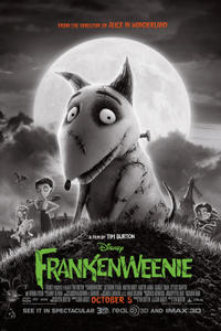 Frankenweenie 3D Movie Poster