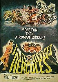 The Three Stooges Meet Hercules / The Outlaws Is Coming Movie Poster
