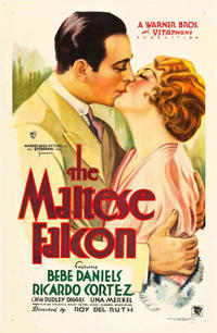 The Maltese Falcon / City Streets Movie Poster