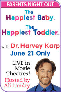 Happiest Baby and Happiest Toddler Live With Dr. Karp Movie Poster