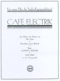 Cafe Electric Movie Poster