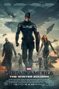 Marvel's Captain America: The Winter Soldier (2014) Movie Poster