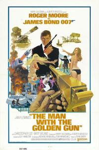 The Man With The Golden Gun / The Spy Who Loved Me / Moonraker Movie Poster