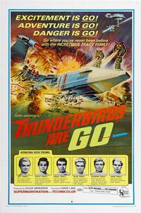 Thunderbirds Are Go / Thunderbird Six Movie Poster