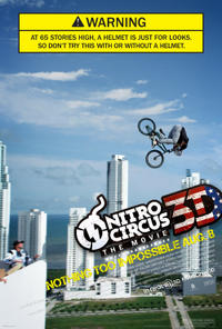 Nitro Circus: The Movie 3D Movie Poster