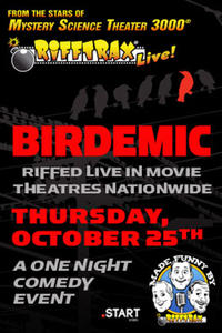 RiffTrax Live: Birdemic Movie Poster