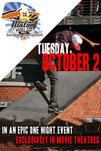 Maloof Cup World Skateboarding Championship Event Movie Poster