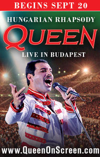 Queen - Hungarian Rhapsody: Live in Budapest '86 Movie Poster