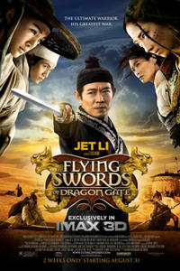 Flying Swords of Dragon Gate in IMAX 3D Movie Poster